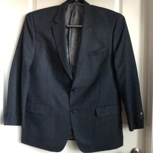 IZOD Dark Blue 2 Button Blazer. 46L